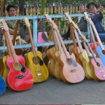Guitars on the streets