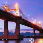 Mandaue -Mactan Bridge (image by marvin llanos maning)
